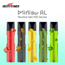Empty Prefilled Available Ocitytimes MiniBar AL Salt Nicotine Disposable E Cigarette