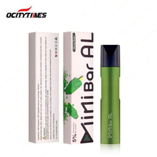2020 New Trending Yellow/ Green/ Black/ Army-green/ Red Color Nicotine Salts Vape Pen