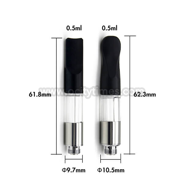Wickless disposable cbd cartridge 0.5ml