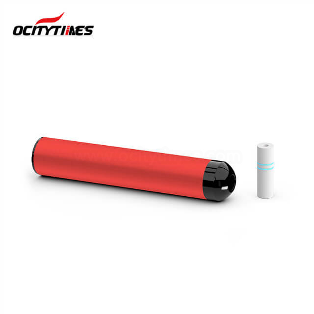Ocitytimes BF01S 1500 Puffs Disposable Vape Pen with Cigarette Filter Tips